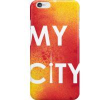 My City - Toronto - RedYellowA iPhone Case/Skin