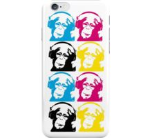 DJ monkeys iPhone Case/Skin