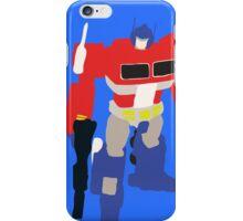Optimus Prime Blocky iPhone Case/Skin