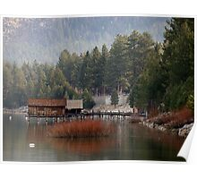 Fall in South Lake Tahoe Poster