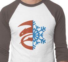 Hijack Ship Symbol Men's Baseball ¾ T-Shirt