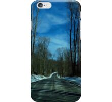 On The Road 09 iPhone Case/Skin