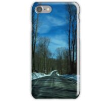 On The Road - winter driving (2016) iPhone Case/Skin