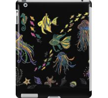 Seascape--Black iPad Case/Skin