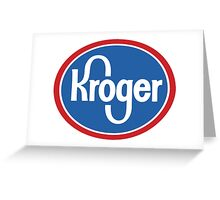Kroger Greeting Card