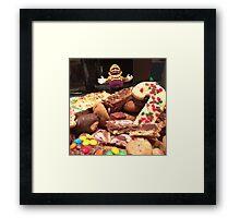 King of Cookies Framed Print