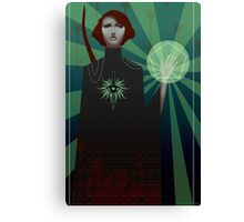Dragon Age: Inquisition - tarot card Canvas Print