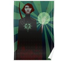 Dragon Age: Inquisition - tarot card Poster