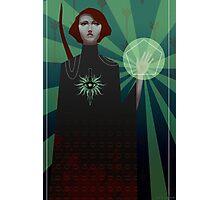 Dragon Age: Inquisition - tarot card Photographic Print