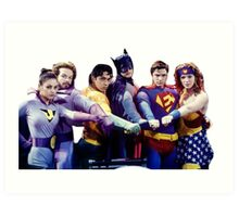 That 70's Show - Super Heroes Art Print