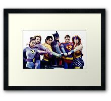 That 70's Show - Super Heroes Framed Print