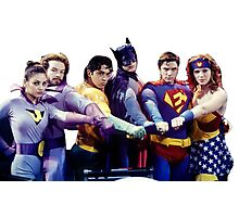 That 70's Show - Super Heroes Photographic Print
