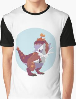 Queen Tyrantrum Graphic T-Shirt