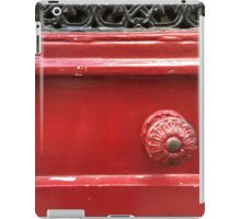 French Red iPad Case/Skin