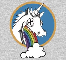 Drunk Unicorns Make Rainbows! One Piece - Long Sleeve