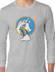 Drunk Unicorns Make Rainbows! Long Sleeve T-Shirt