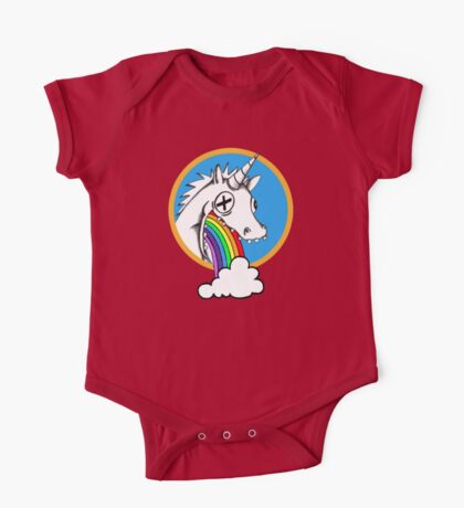 Drunk Unicorns Make Rainbows! One Piece - Short Sleeve