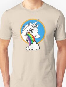 Drunk Unicorns Make Rainbows! Unisex T-Shirt