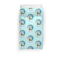 Drunk Unicorns Make Rainbows! Duvet Cover