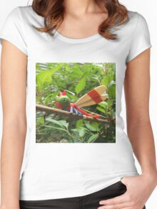 A Wild Yanma Appears! Women's Fitted Scoop T-Shirt