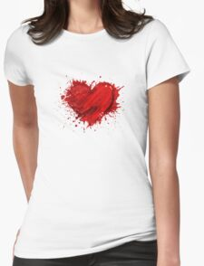 Heart So Good - Valentine Love Womens Fitted T-Shirt