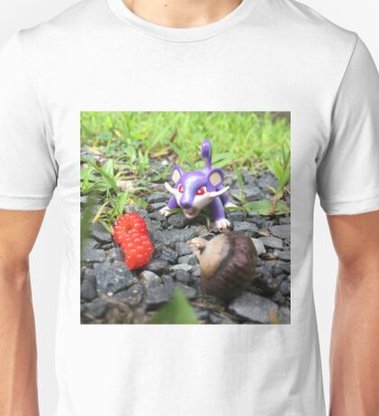 Rattata Chows Down! Unisex T-Shirt