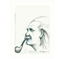 Ein Stein, Albert Art Print
