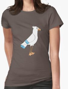 Wingull realistic (sort of) Womens Fitted T-Shirt