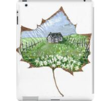 Alabama Tree Leaf Country Scene iPad Case/Skin