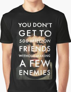 The Social Network Graphic T-Shirt