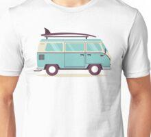 Surfer van Unisex T-Shirt