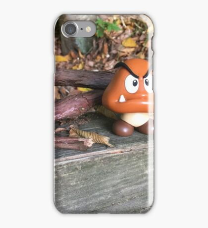 Goomba Takes a Day Off iPhone Case/Skin