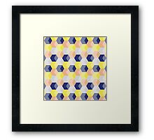 LittleCubes Framed Print
