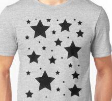 Black Stars Unisex T-Shirt