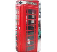Telephone Booth iPhone Case/Skin