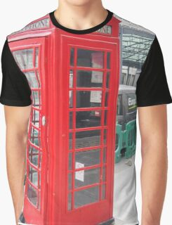Telephone Booth Graphic T-Shirt