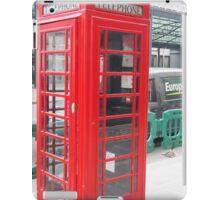 Telephone Booth iPad Case/Skin