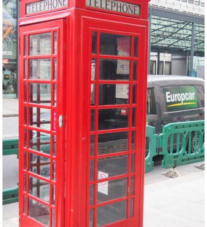 Telephone Booth Sticker