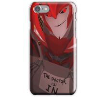 Knock Out - The Doctor is In iPhone Case/Skin