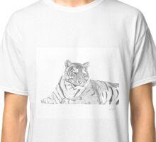 Zarina a Siberian Tiger Classic T-Shirt