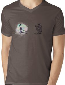River Tam - No Power in the 'Verse (Colorful Cosmos) Mens V-Neck T-Shirt