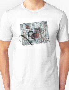 analog synthesizer illustration - music equipment Unisex T-Shirt