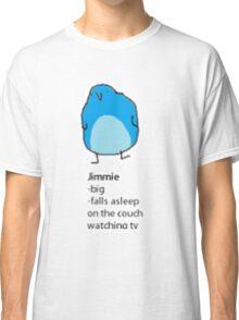 bird meme jimmy Classic T-Shirt