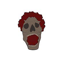 Skull n' Roses Black by OiJayVeeEmm