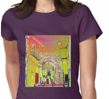 Through the arch Womens Fitted T-Shirt
