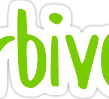 Herbivore Sticker