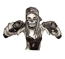 """Cara Delevingne """"Gangstified"""" Photographic Print"""