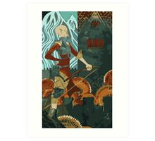 Sera Tarot Card 2 Art Print
