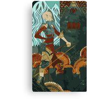 Sera Tarot Card 2 Canvas Print