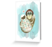 Zelda Yeti Valentine Greeting Card